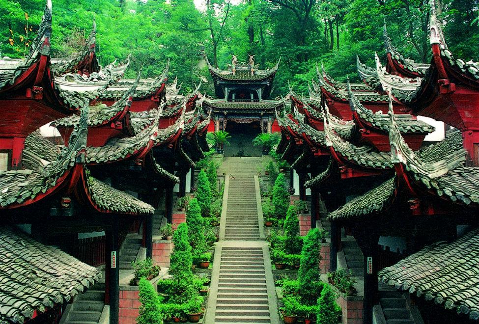 青城山六善酒店周边景点